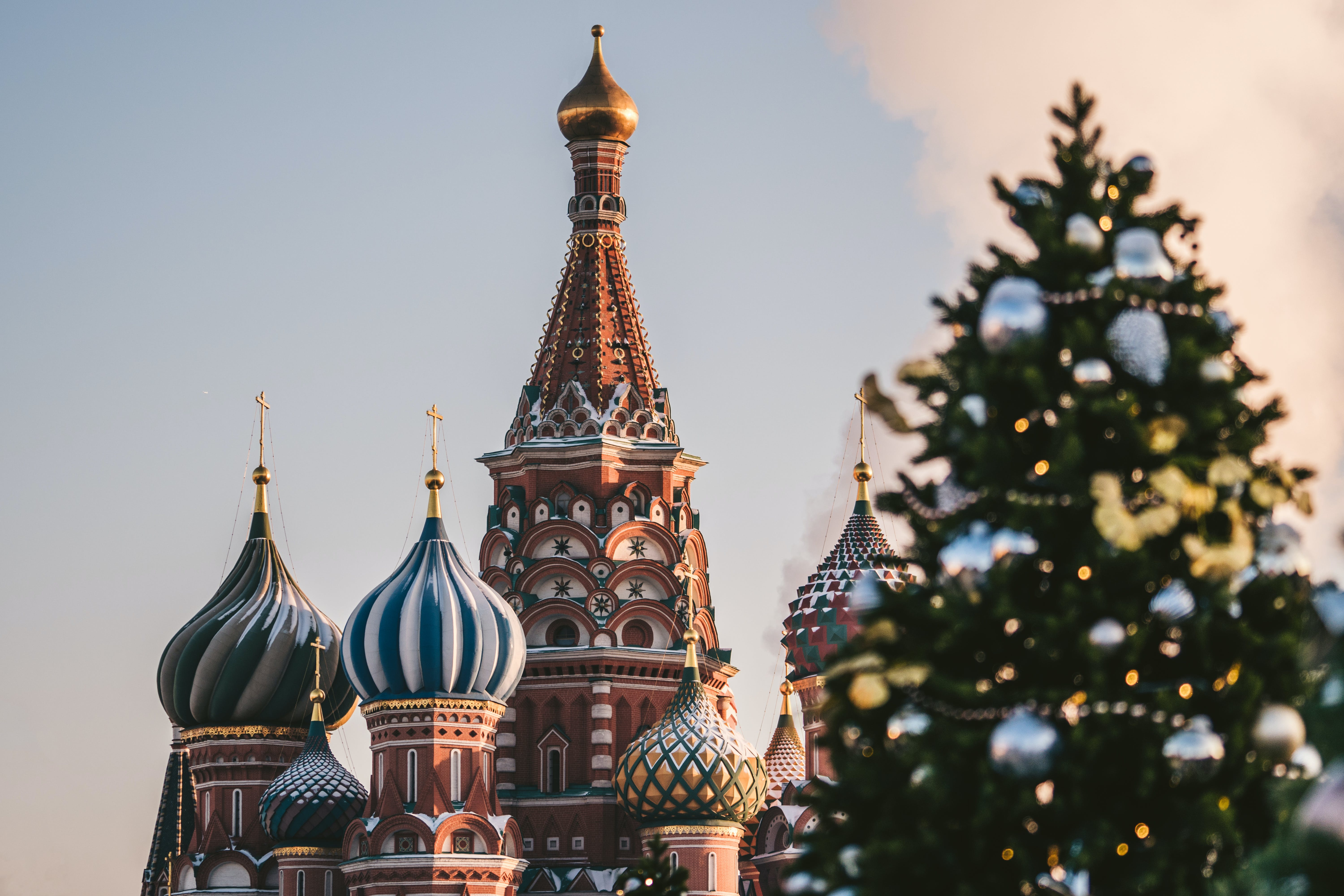 Saint Basil Cathedral, Moscow Russia