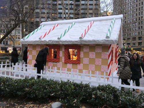 Kostenloses Stock Foto zu lebkuchenhaus, madison square park, nyc