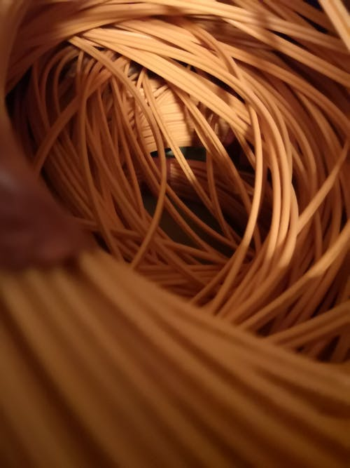 Foto d'estoc gratuïta de cables, cables elèctrics, taronja