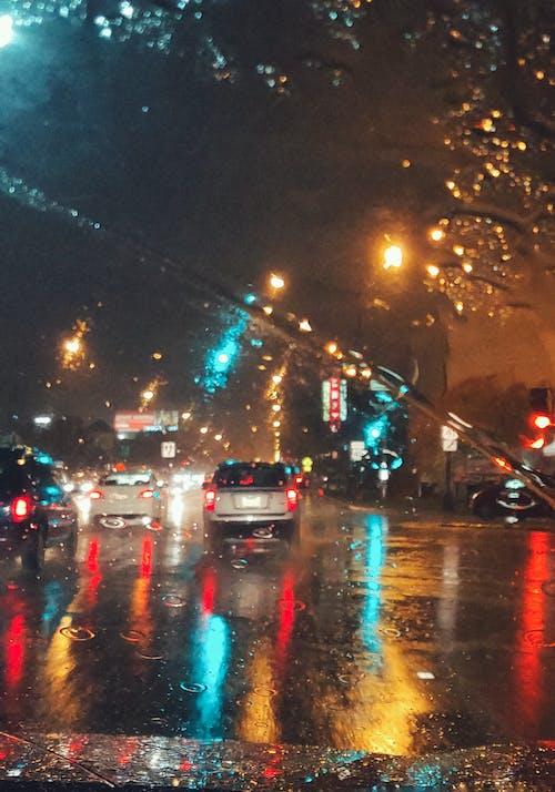 가벼운, 거리, 교통, 교통체계의 무료 스톡 사진
