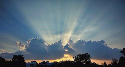 Foto profissional grátis de azul-celeste, beleza na natureza, céu, céu azul
