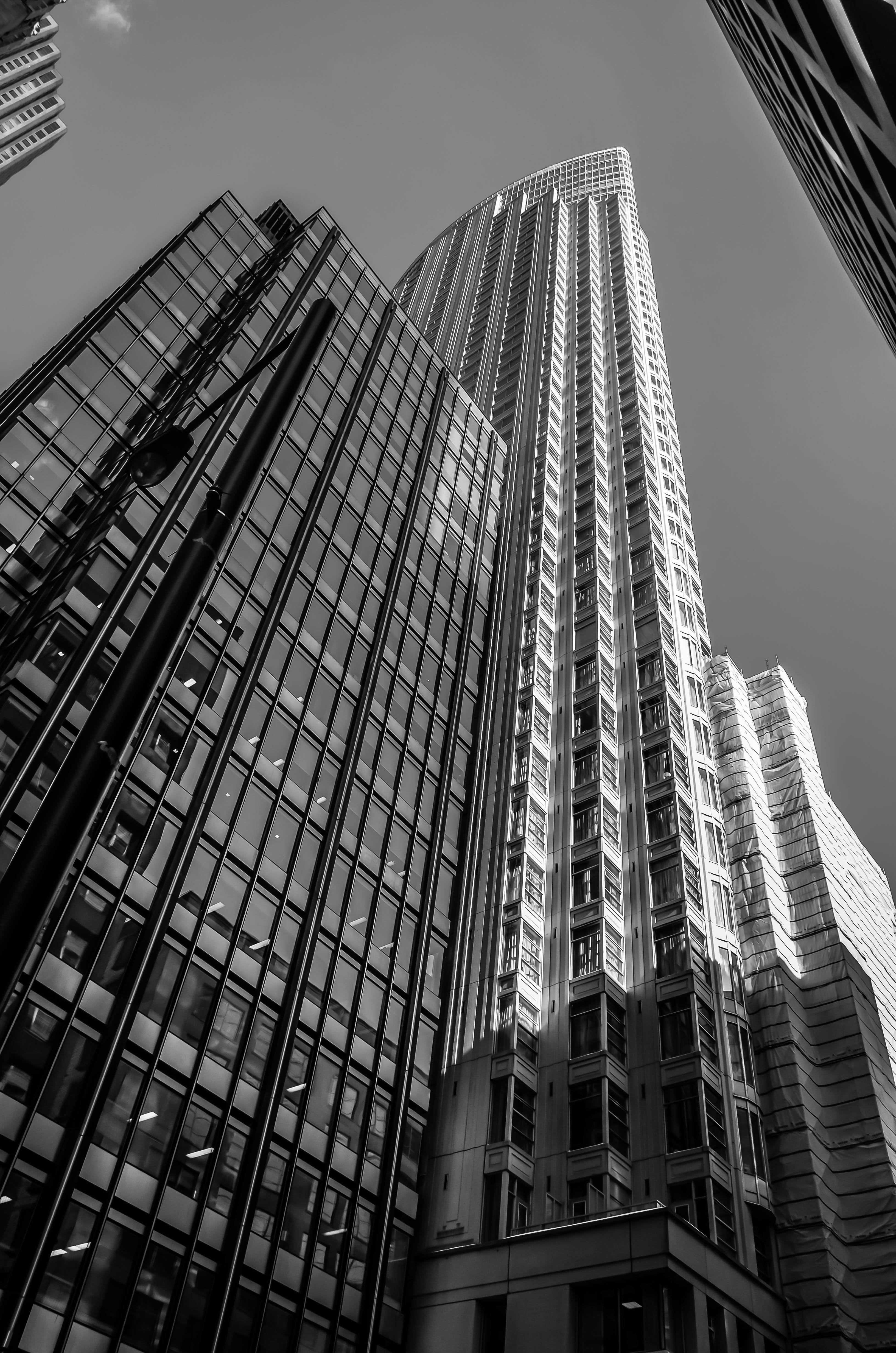 Foto stok gratis Arsitektur, bangunan, bidikan sudut sempit, eksterior bangunan