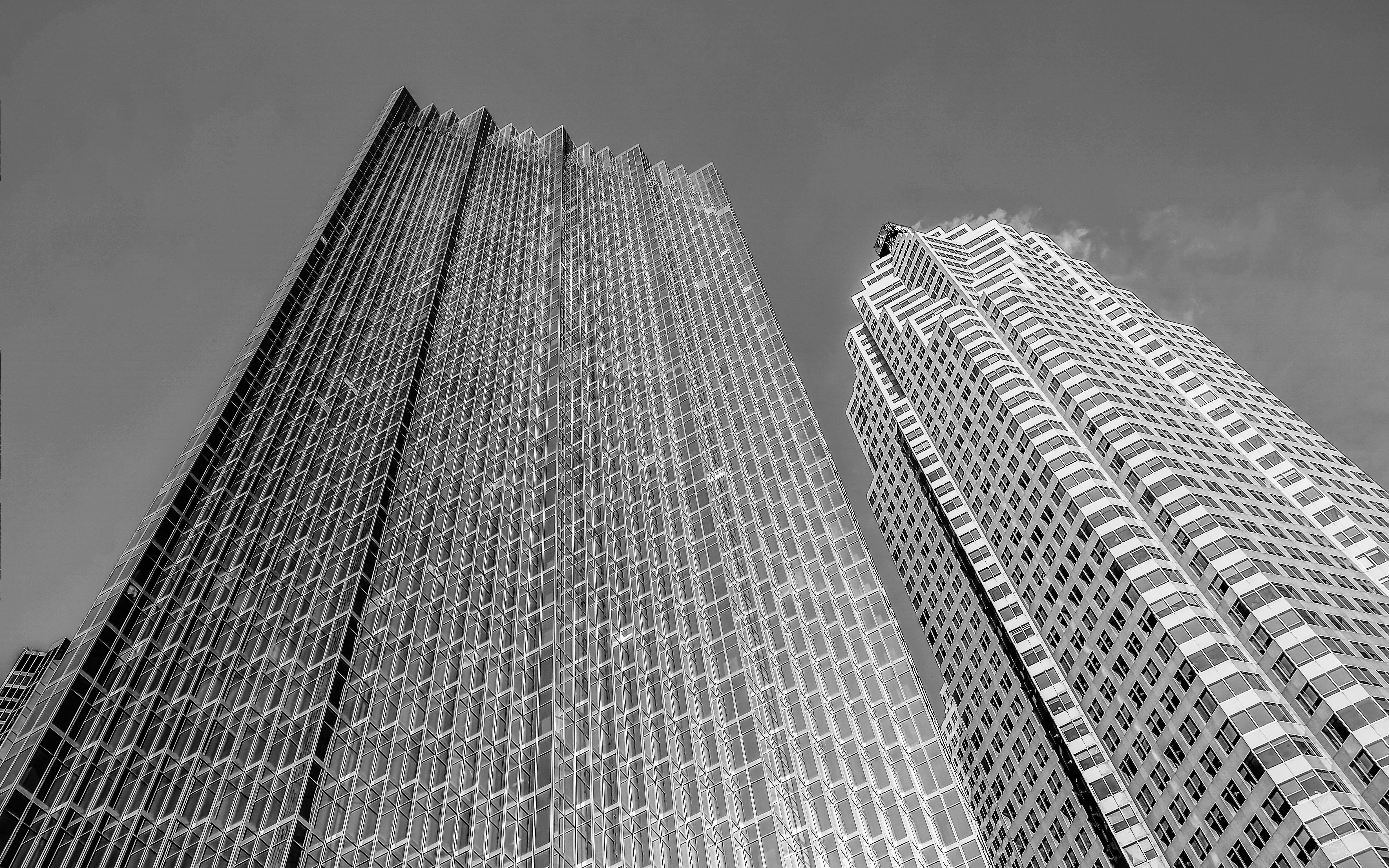 Kostenloses Stock Foto zu architektur, aufnahme von unten, downtown toronto, gebäude