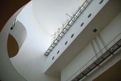 Foto stok gratis Arsitektur, baja, bangunan, dalam