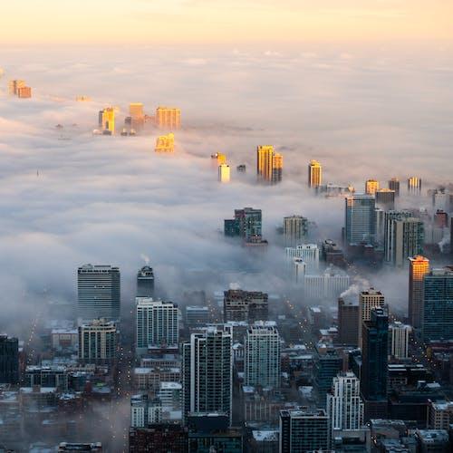 Бесплатное стоковое фото с архитектура, горизонт, город, городская зона