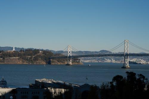 サンフランシスコ, シティ, ブリッジ, ベイの無料の写真素材