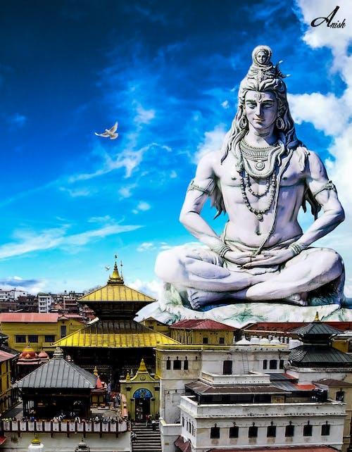 Kostenloses Stock Foto zu bholenath, gott shiva, nepal