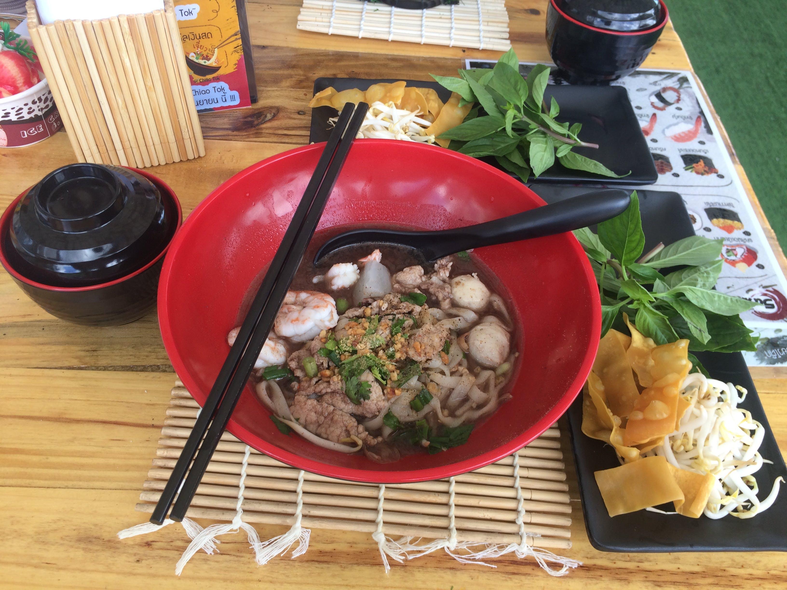 Free stock photo of thai food, ก๋วยเตี๋ยว, อาหารไทย