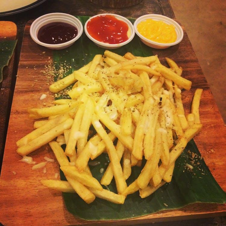 pommes frites, snacks, thai-mat