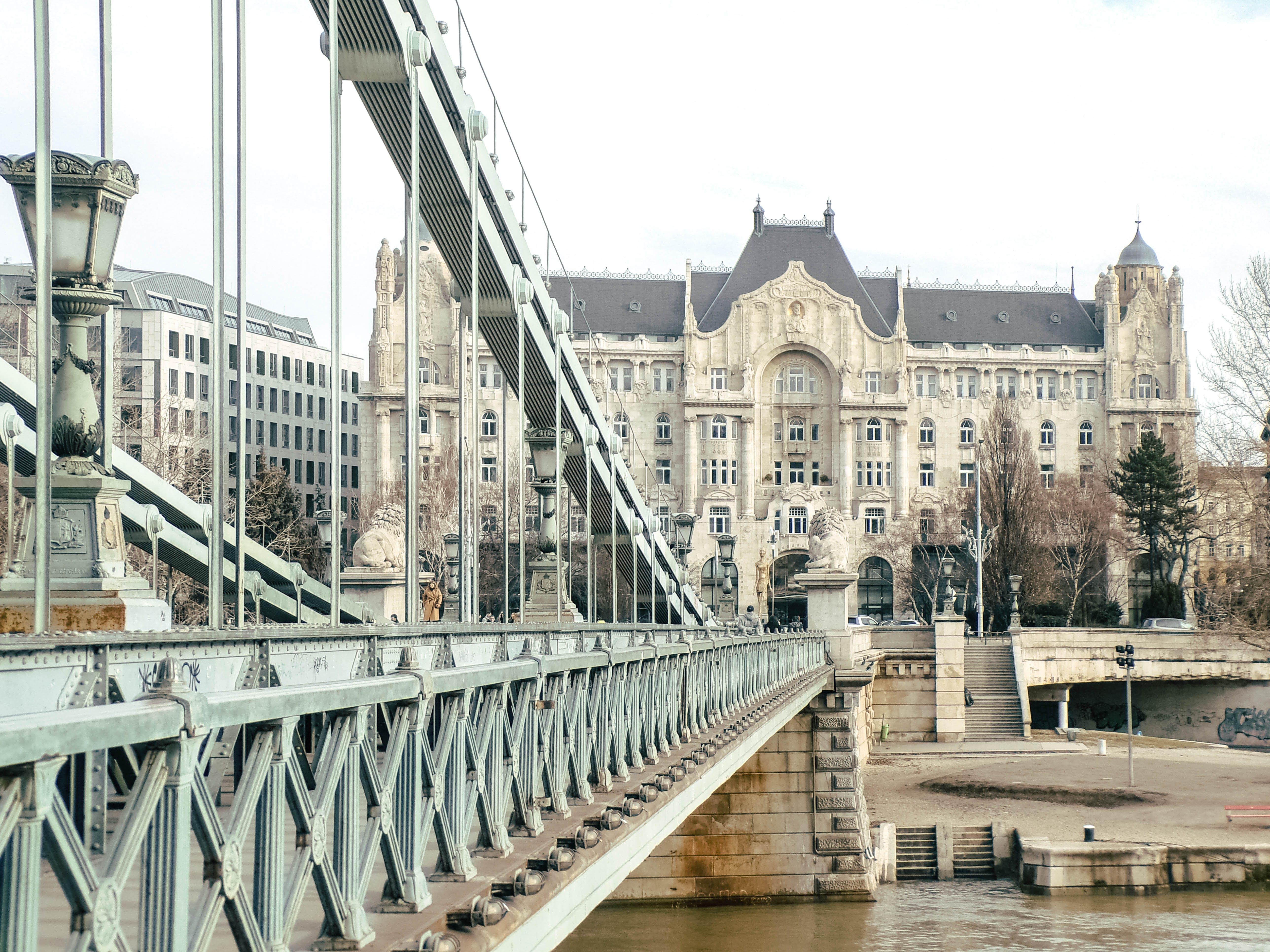 Kostenloses Stock Foto zu budapest, donau, duna, épület