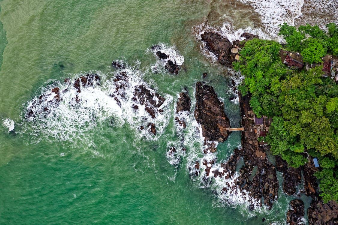 fotografia przyrodnicza, fotografia z drona, kamienie
