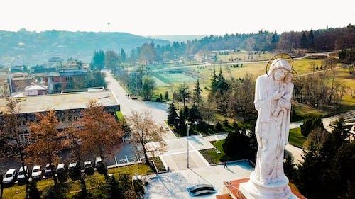 Бесплатное стоковое фото с дрон, памятник, санта мария, святая мать