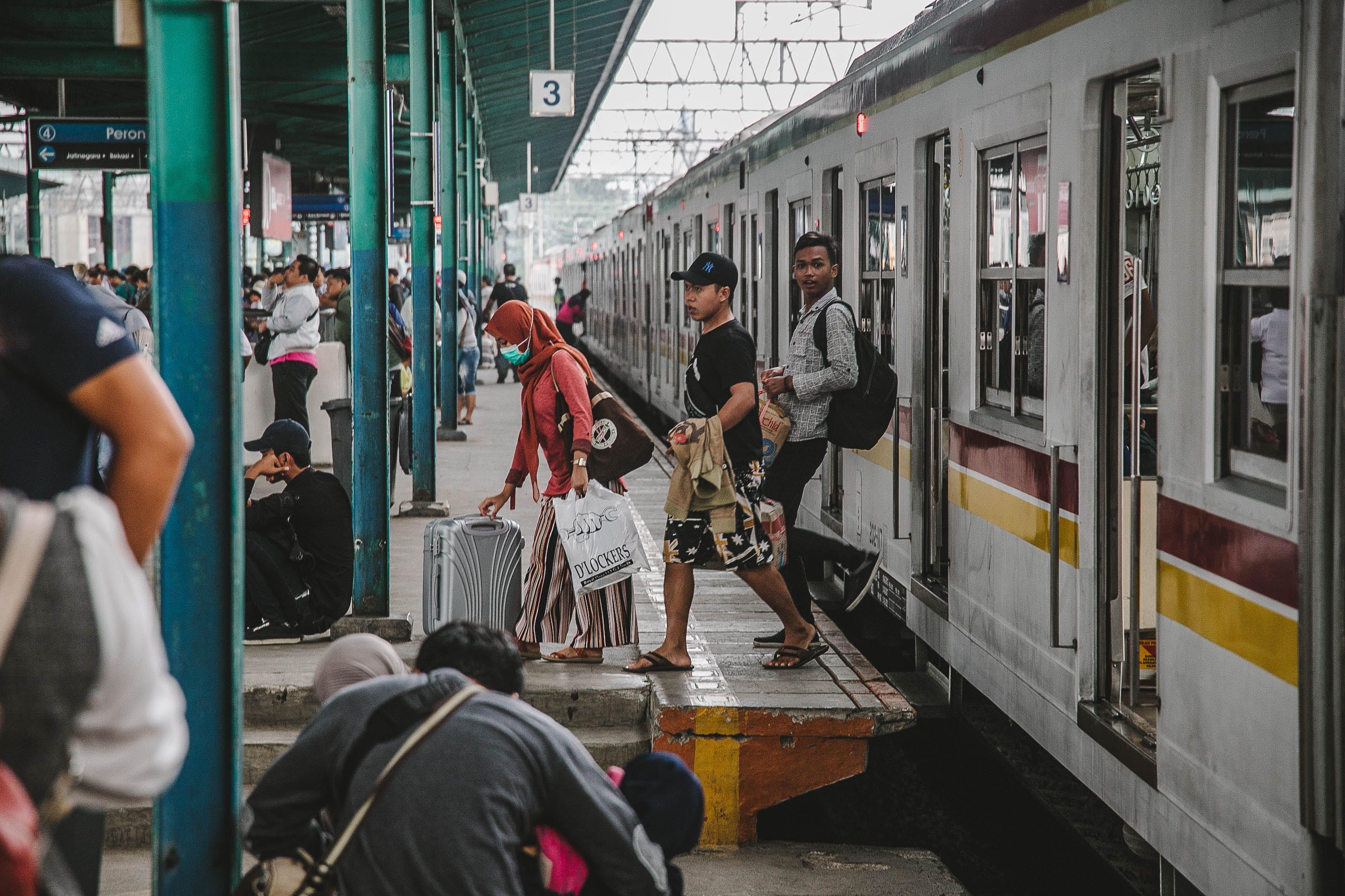 Free stock photo of train, train station