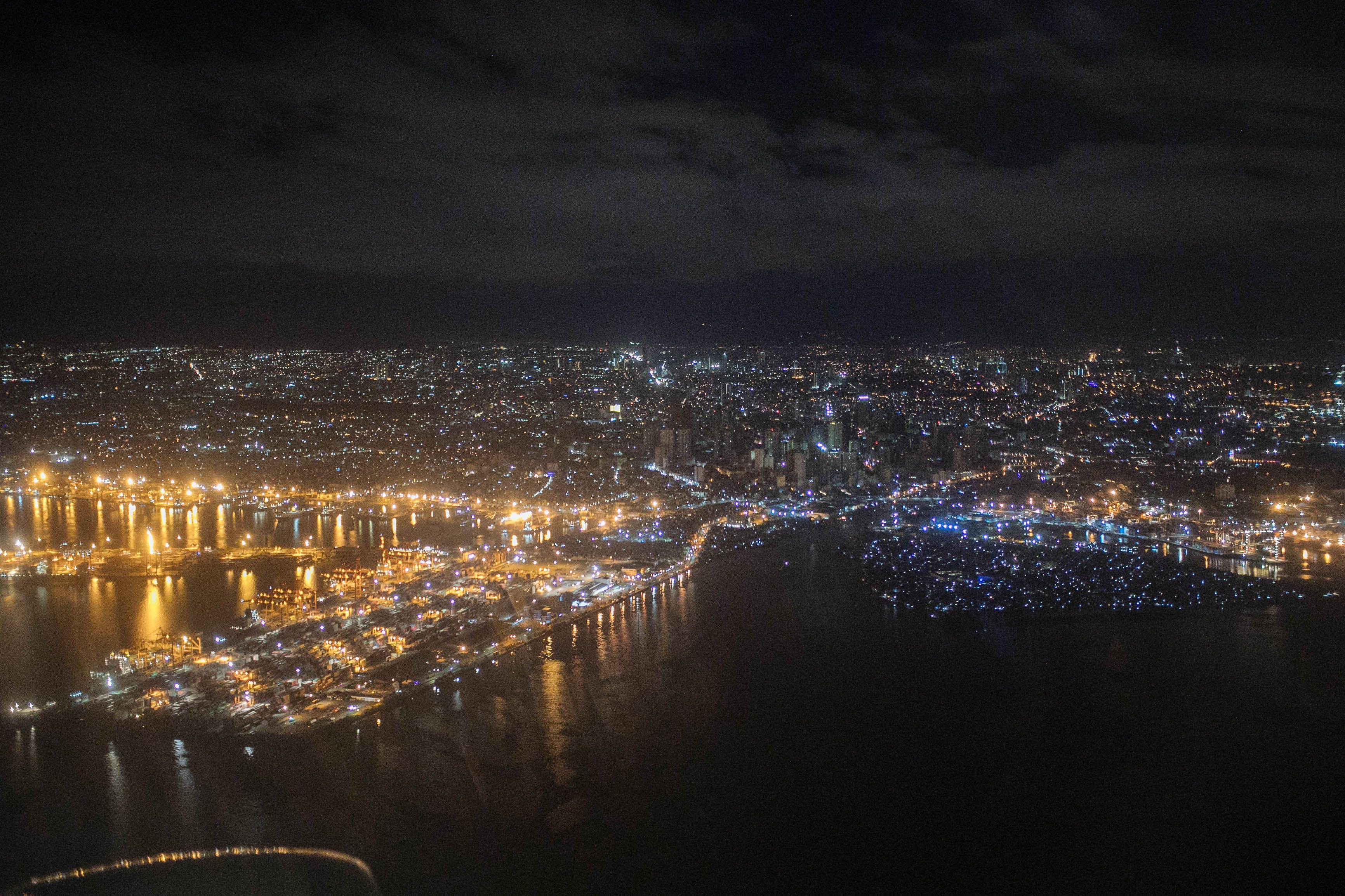 Free stock photo of city lights, night photography