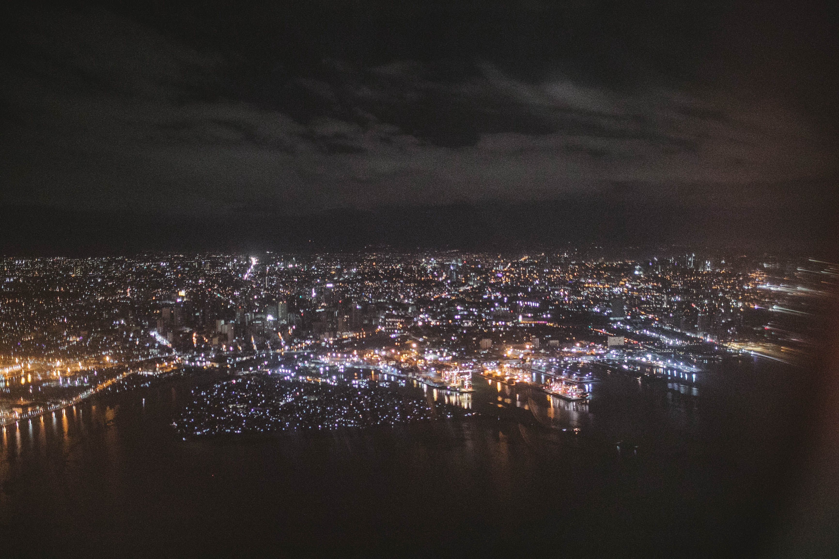 Free stock photo of city lights, cityscape, nightscape
