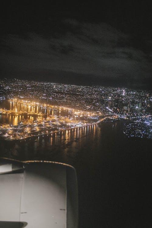 Gratis lagerfoto af byens lys
