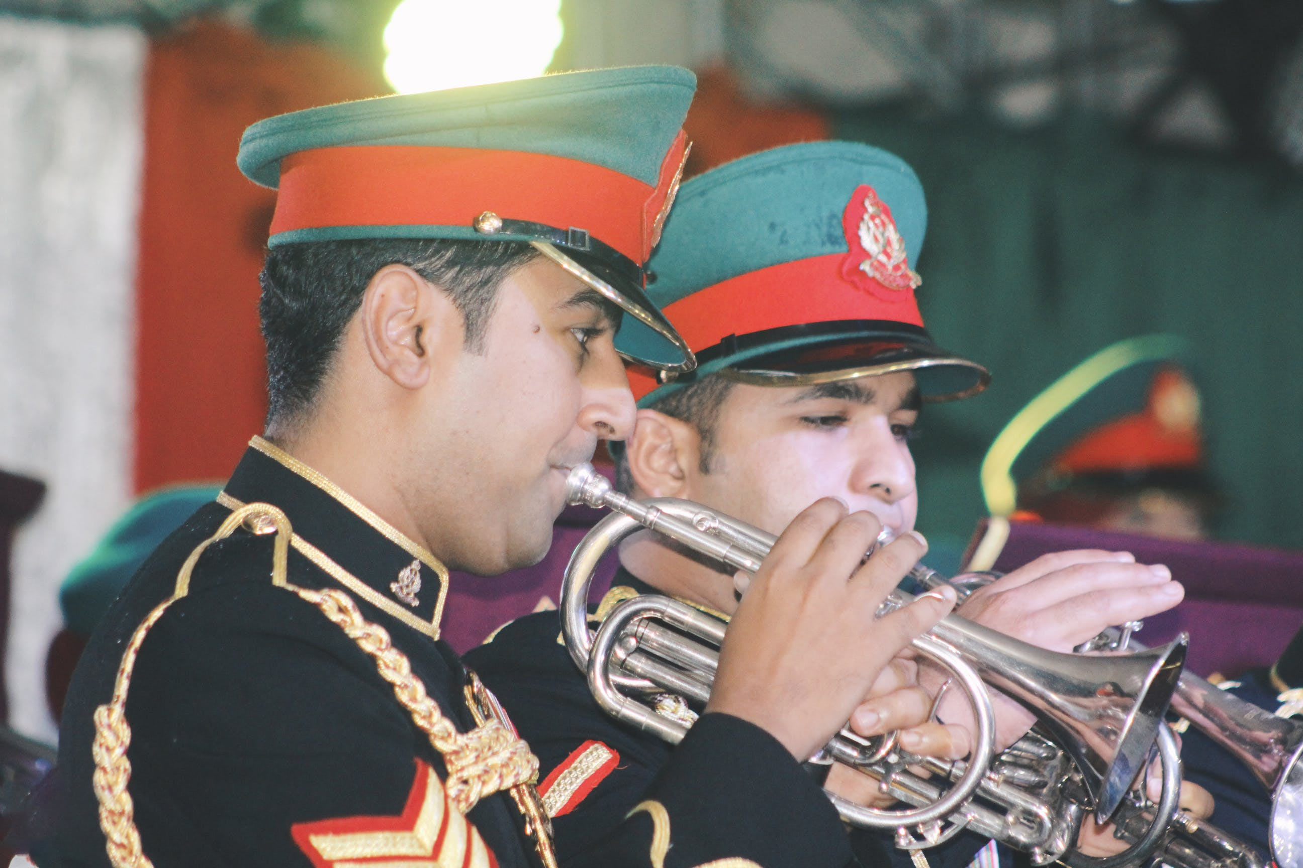 Free stock photo of band, military, music, oman