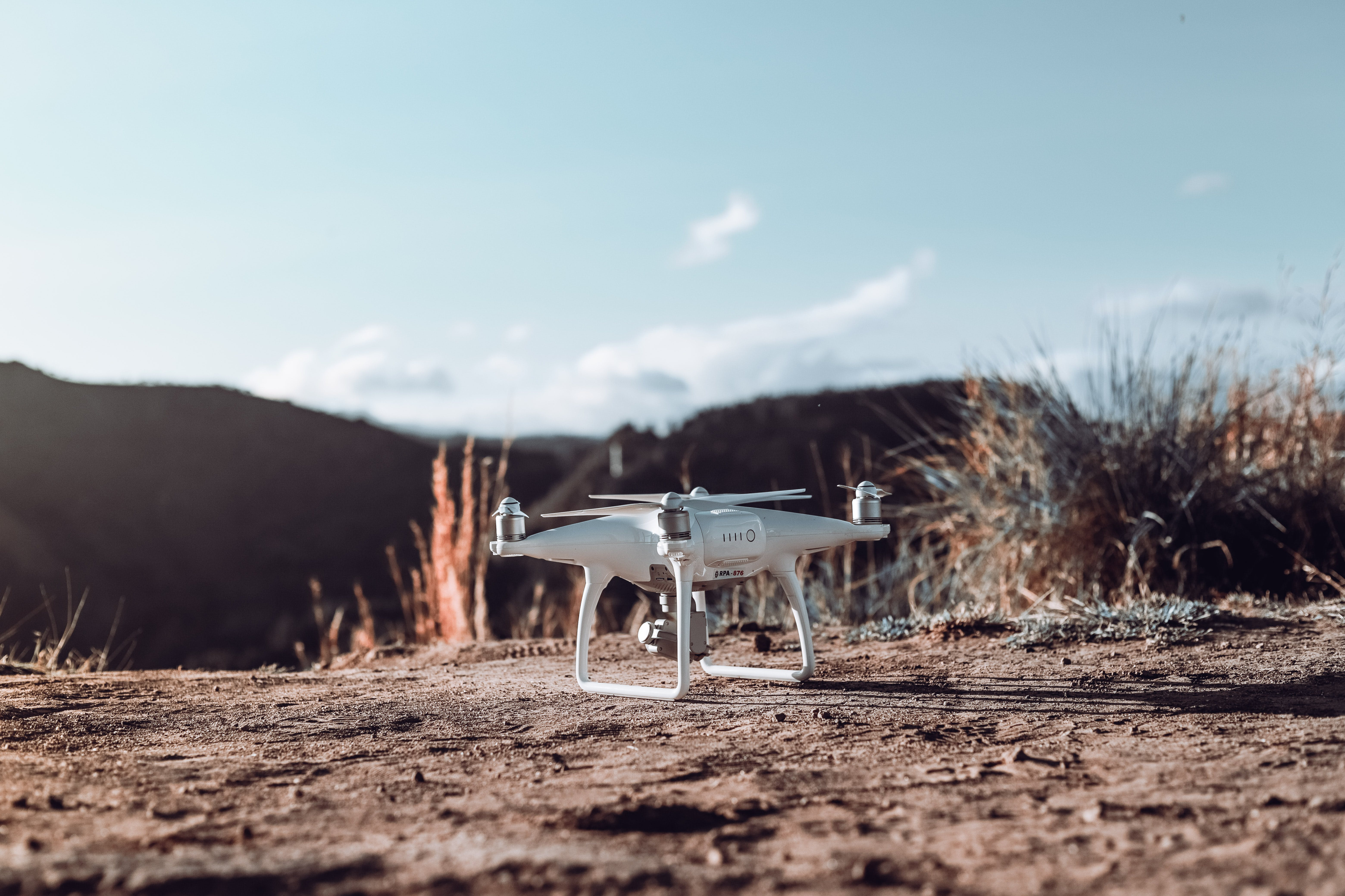 Close-Up Photo of Drone