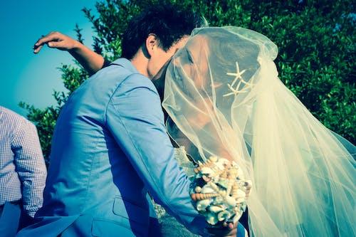 Free stock photo of bride, Bride and Groom, costume, groom