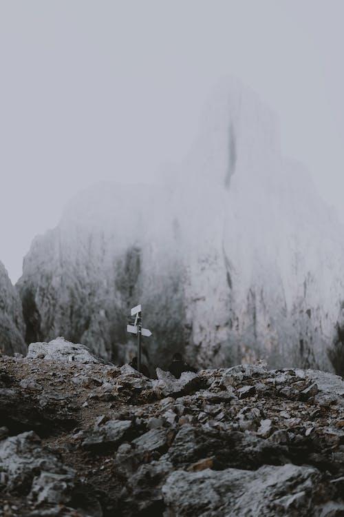 Бесплатное стоковое фото с HD-обои, гора, доломитовые альпы, дорожный указатель