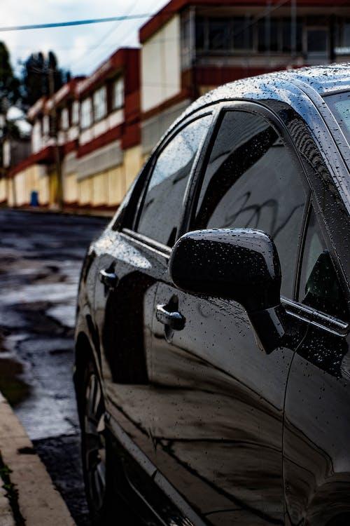 Foto stok gratis Dingin, hitam, hujan, kota