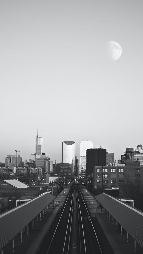Free stock photo of black and white, chicago, downtown, downtown chicago