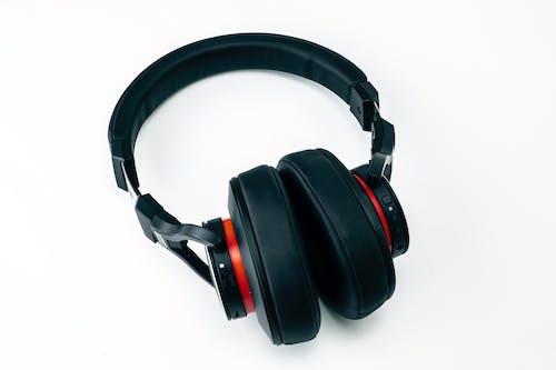 Základová fotografie zdarma na téma audifonos, černé sluchátka, hudba, hudební sluchátka