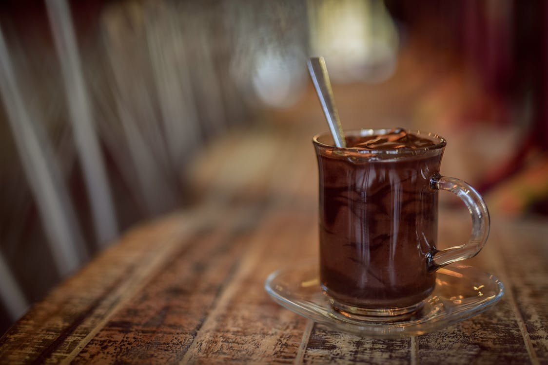 chocolade, drank, drankje