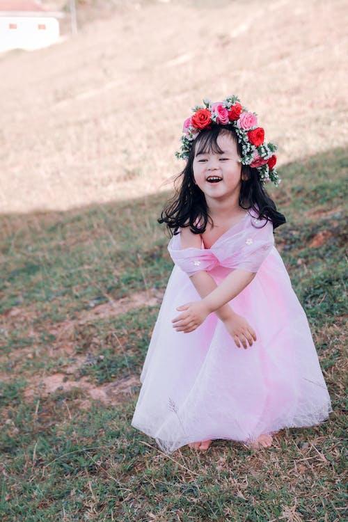 aanbiddelijk, aantrekkelijk mooi, Aziatisch meisje