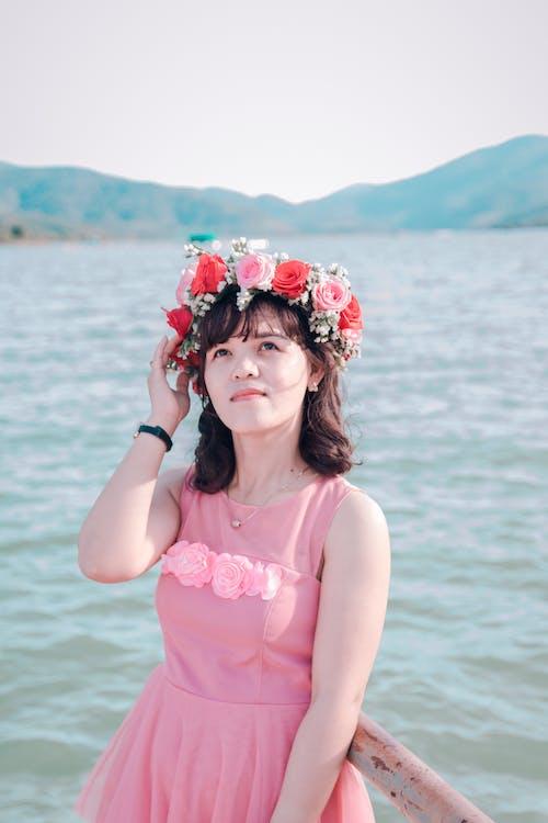 Fotobanka sbezplatnými fotkami na tému Ážijčanka, človek, korunka zkvetov, krása