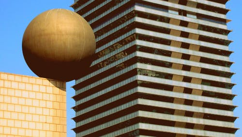 Free stock photo of architecture, ball, barcelona