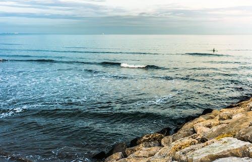 Gratis lagerfoto af 4k-baggrund, bølger, hav, havudsigt