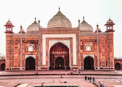 insanlar, taç Mahal, tarihi alan, Tarihi bina içeren Ücretsiz stok fotoğraf