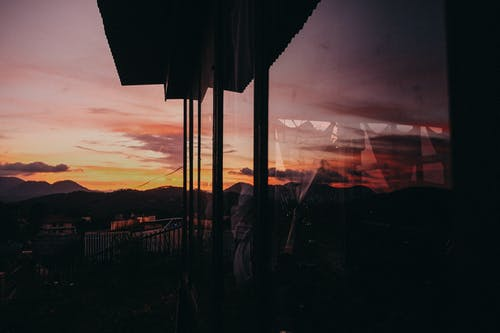 Foto profissional grátis de alvorecer, cênico, golden sun, horizonte