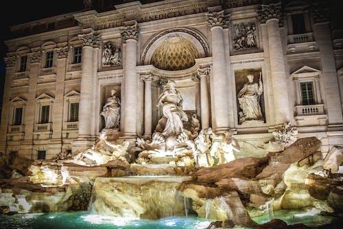 Foto stok gratis air mancur, bersejarah, itali, Monumen