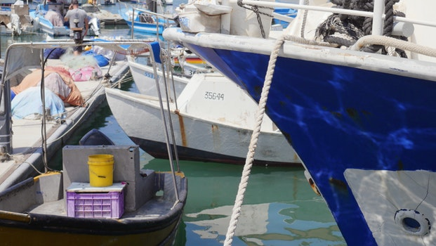 Free stock photo of boats, port, tel aviv, jaffa