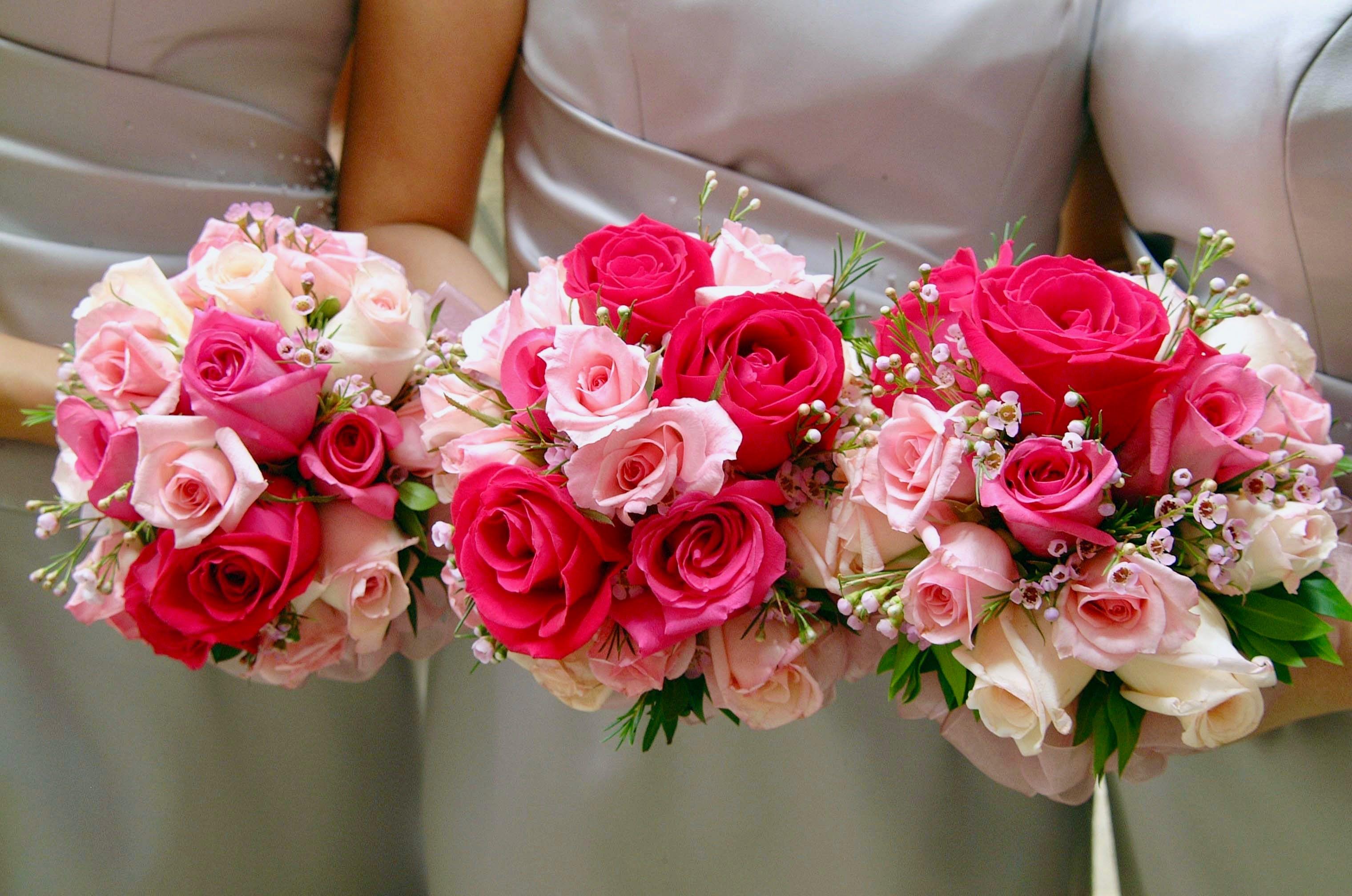Darmowe zdjęcie z galerii z bukiet, ceremonia, druhny, kompozycja kwiatowa