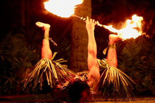 Free stock photo of fire, fire dancer, flame, hawaii