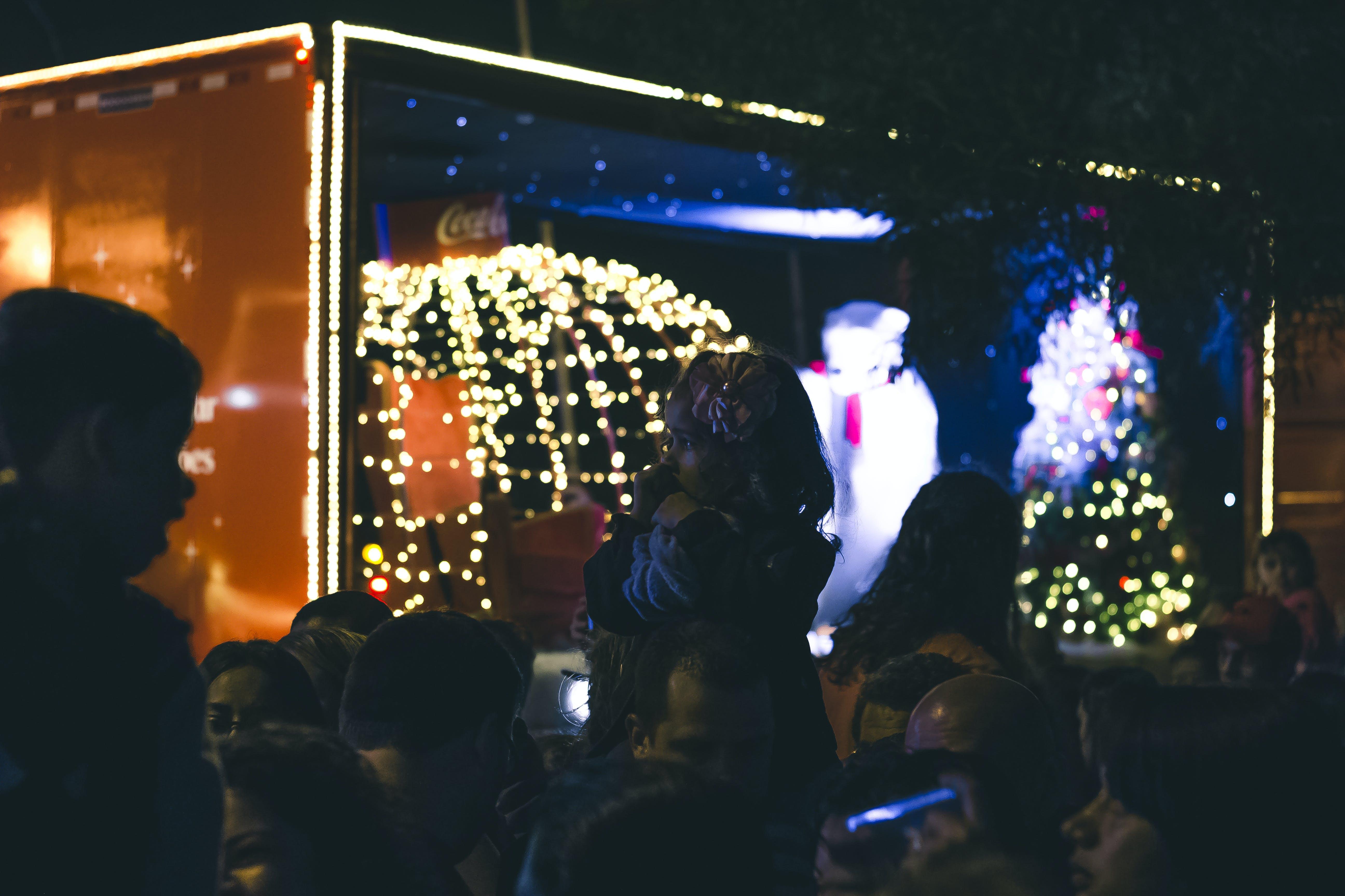 Foto profissional grátis de criança, decorações de Natal, dia de Natal, ibirapuera