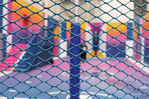 Close-up Photography of Chain-link Fencing