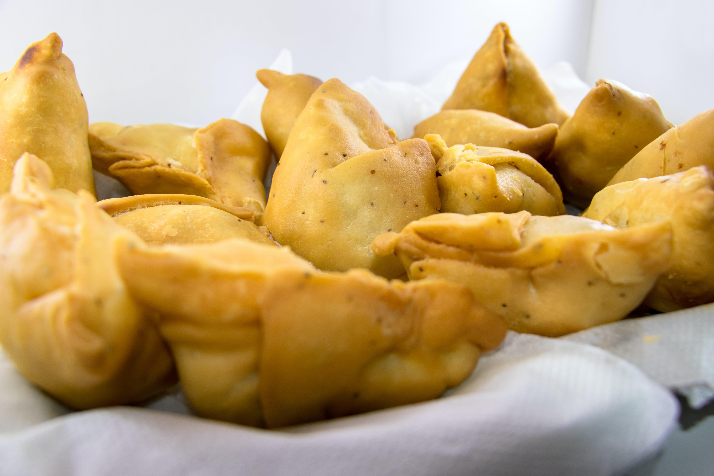 Free stock photo of cuisine, fried, indian food, samosa