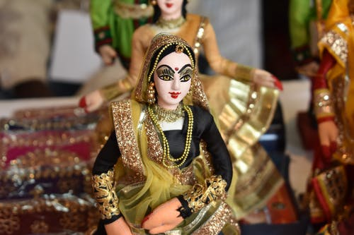 Free stock photo of puppet, Rajasthani Traditional Dress Puppet, The Puppet