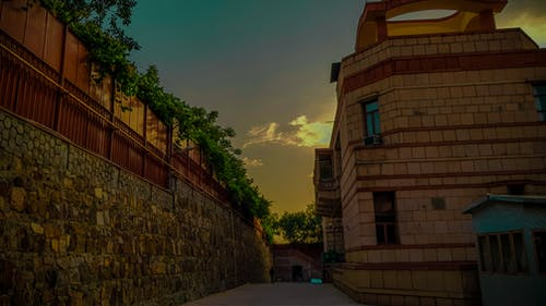 傍晚的天空 的 免費圖庫相片