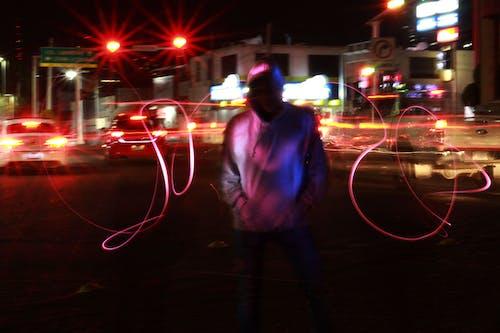 Foto profissional grátis de área urbana, cena urbana, cidade da noite, estilo