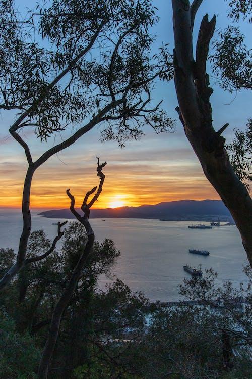 Gratis lagerfoto af gibraltar, solnedgang