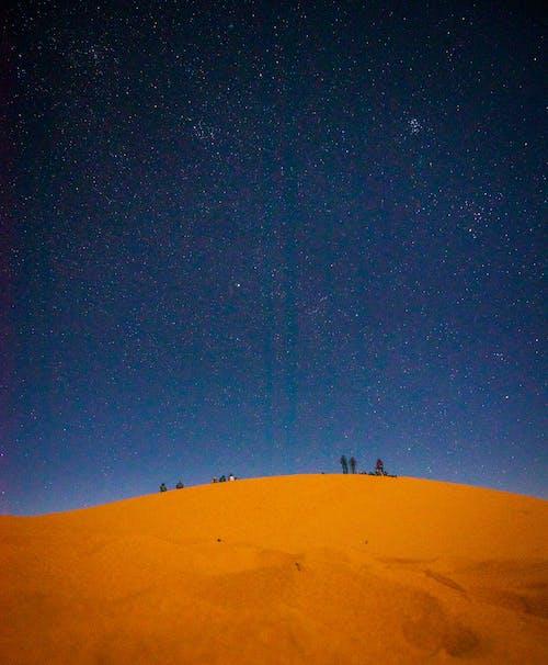サハラ, メルズーガ, モロッコ, 夕方の無料の写真素材