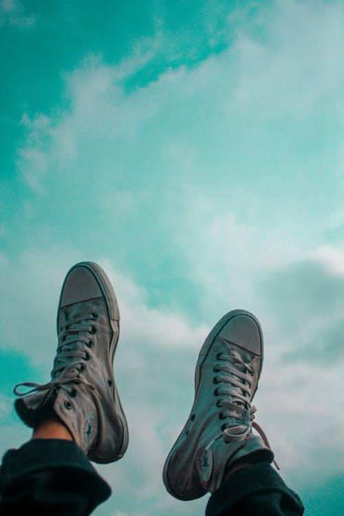 Foto d'estoc gratuïta de blau, Canon, cel blau, cel ennuvolat