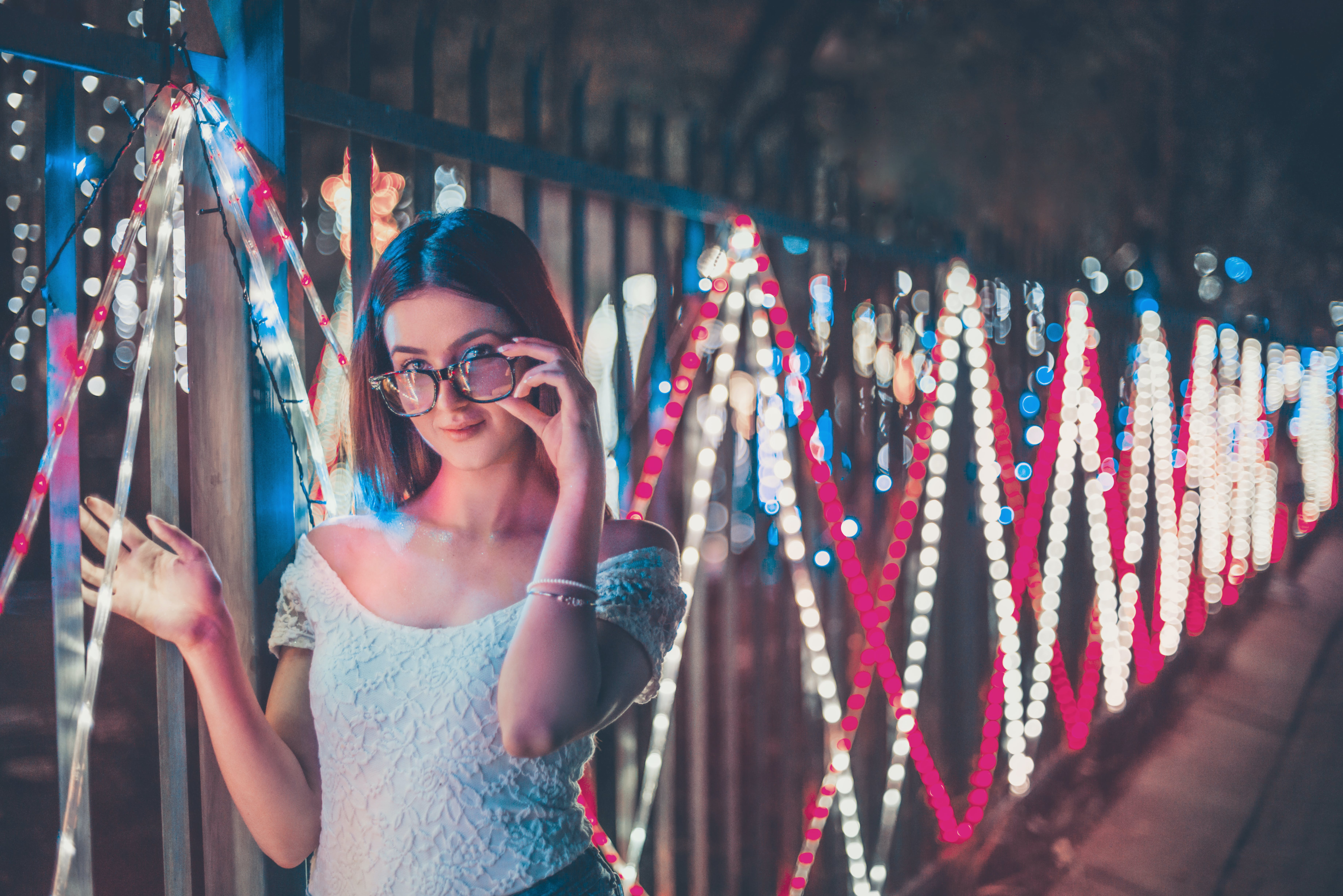 Photo of Woman Holding Her Eyeglasses