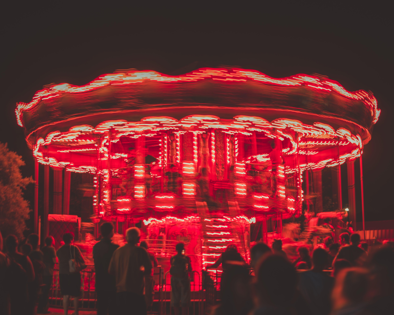Lighted Carousel