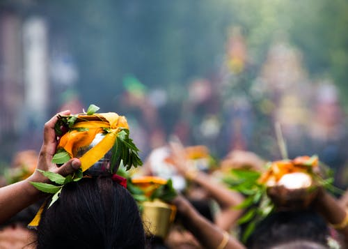 Free stock photo of asian woman, festival, parade, prayer